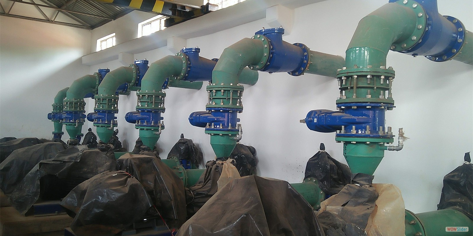 KEGATI NEW PUMPING SYSTEM